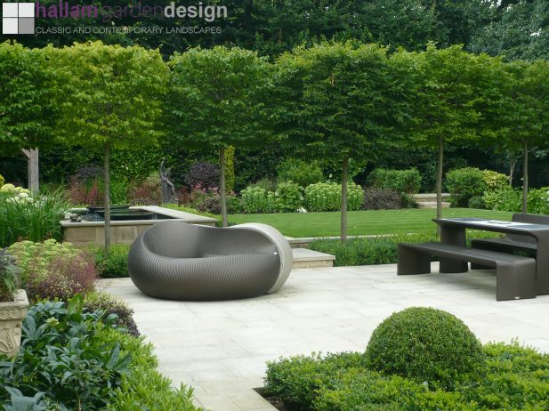 Contemporary Country Garden